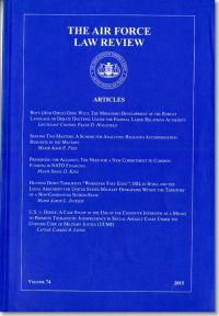 Air Force Law Review