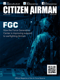 V.73 #1 February 2021; Citizen Airman.