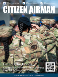 V.73 #2 April 2021; Citizen Airman.