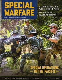 V.30 #4 Oct.-dec.2017; Special Warfare