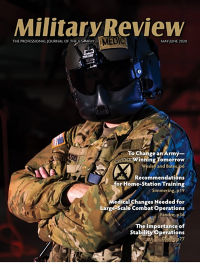 May/june 2020; Military Review