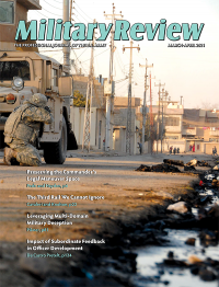 March-april 2021; Military Review