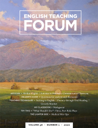 V.58 #1,2020; English Teaching Forum
