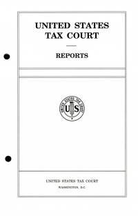 V.152 #4; United States Tax Court Reports