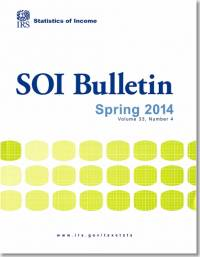 SOI Bulletin, Statistics of Income, V. 33, No. 4, Spring 2014