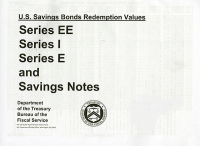 June 2019- November 2019; U. S. Savings Bond Redemption Values Series Ee Series I Series E      And Savings Notes