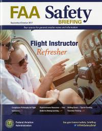 Sept/oct 2017; Faa Safety Briefing