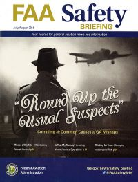 July/aug. 2018; Faa Safety Briefing