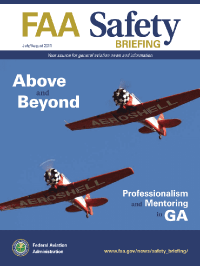 July-august 2021; Faa Safety Briefing