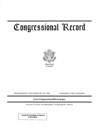 Vol 167 #13 01-22-21; Congressional Record