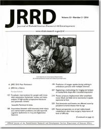Journal of Rehabilitation Research & Development, V. 53, No. 02, 2016