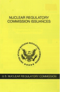 V.88 July 1- Dec.31,2018; Nuclear Regulatory Commission Issuances  Nureg-0750