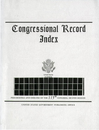 Index #191-225 11-9-20-01-3-21; Congressional Record
