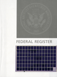 Cfr Lsa April 2019; Federal Register (microfiche)