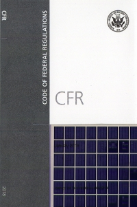 Code Of Federal Regulations Title 46, Shipping, Part 166-199, Revised as ofOctober 1, 2018 (Microfiche) (Cover)