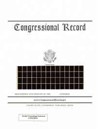 Index Vol 163 #43 To #47; Congressional Record (microfiche)    02-27 To 03-17-2017