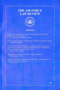 Air Force Law Review, V. 75, 2016