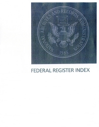 Index #1-190 Jan-sep 2020; Federal Register Complete
