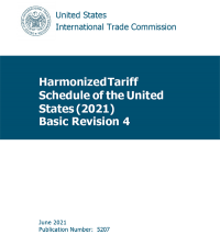 Harmonized Tariff Schedules Of The Annotated For Statistical Reportingpurposed 33rd Edition 2021