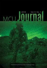 Marine Corps University Journal Spring 2018 (vol. 9, no. 1)
