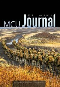 Marine Corps University Journal Fall 2018 (vol. 9, no. 2)