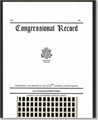 Congressional Record, V. 161, No. 26-30, February 23, 2015 (Microfiche)