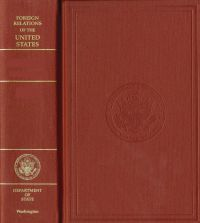 Foreign Relations of the United States, 1964-1968, V. 10, National Security Policy