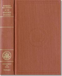 Foreign Relations of the United States, 1977-1980, Volume 1, Foundations of Foreign Policy