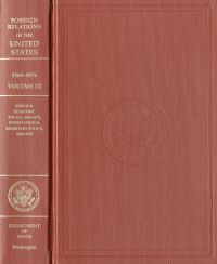 Foreign Relations of the United States, 1969-1976, V. XXXVIII, Part 1, Foundation of United States Foreign Policy 1973-1976
