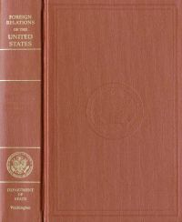 Foreign Relations of the United States, 1969-1976, Volume XXVI, Arab-israeli Dispute 1974-1976