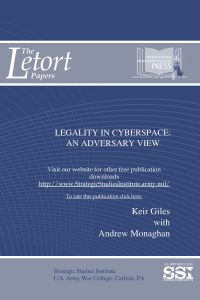 Legality in Cyberspace: An Adversary View