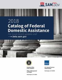 Catalog Of Federal Domestic Assistance 2018
