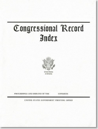 Index 4-2 To 4-30-21 #60-75; Congressional Record