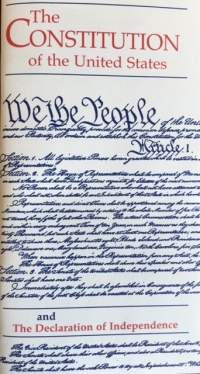 The Constitution of the United States and the Declaration of Independence (Pocket Edition) (2019 printing)