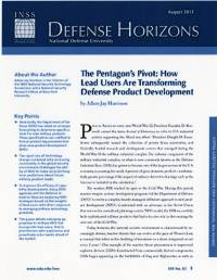 Pentagon Pivot: How Lead Users Are Transforming Defense Product Developent