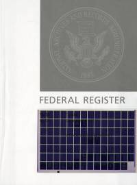Vol. 84 No 42 03-04-2019; Federal Register (microfiche)