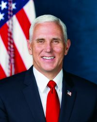 Official Vice Presidential Portrait of Michael Pence (11x14)