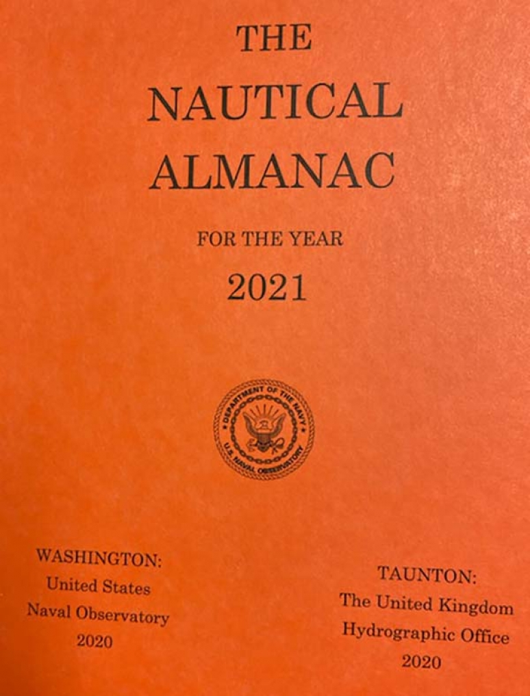 Nautical Almanac For The Year 2021