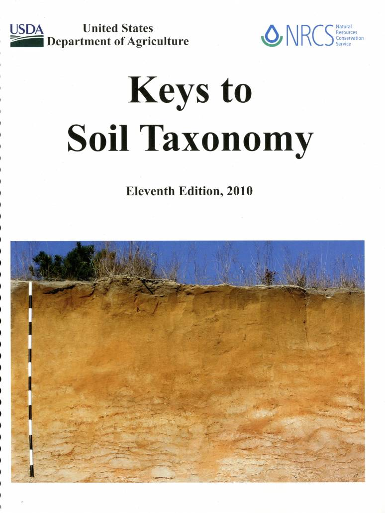 Keys to Soil Taxonomy, 2010