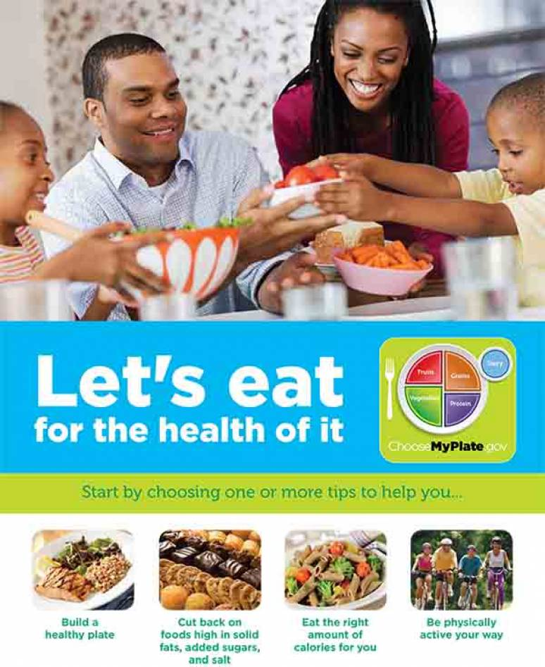 Let's Eat for the Health of It(Package of 100)