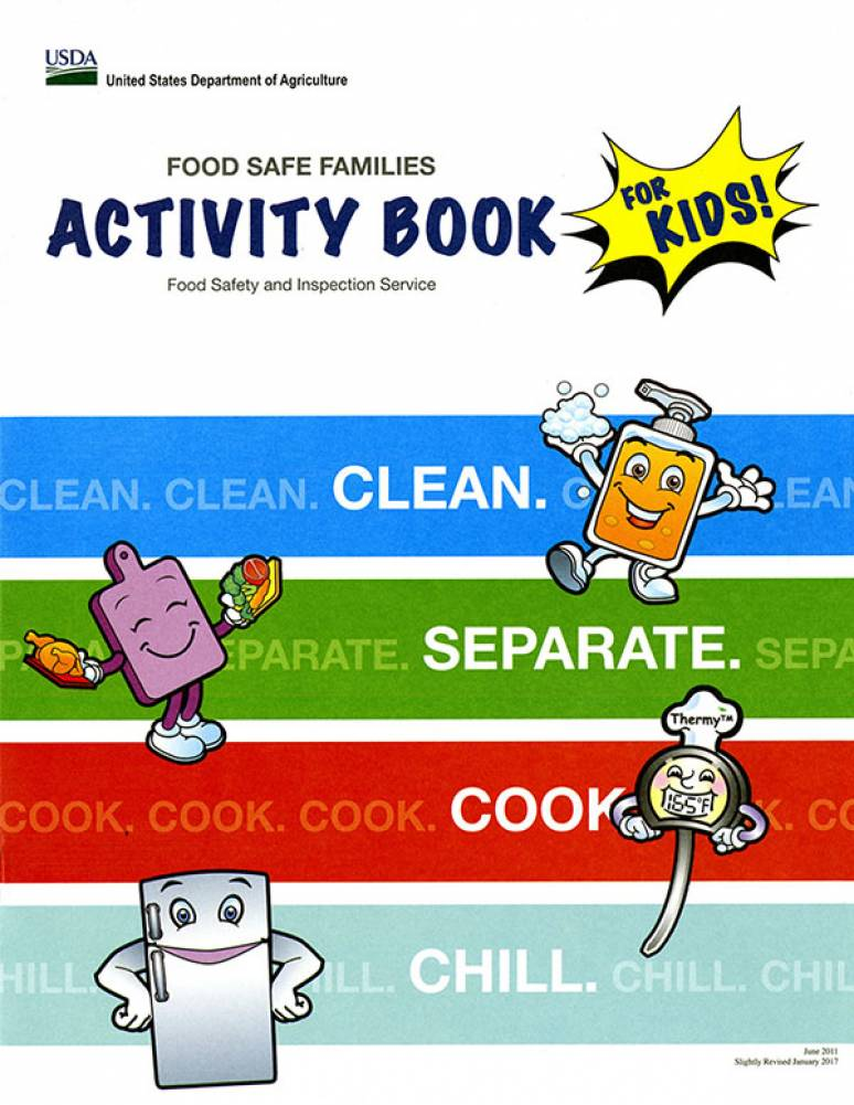 Food Safe Families Activity Book for Kids