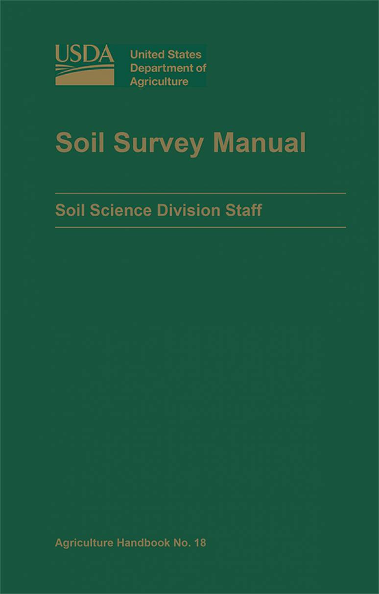 Soil Survey Manual (March 2017)