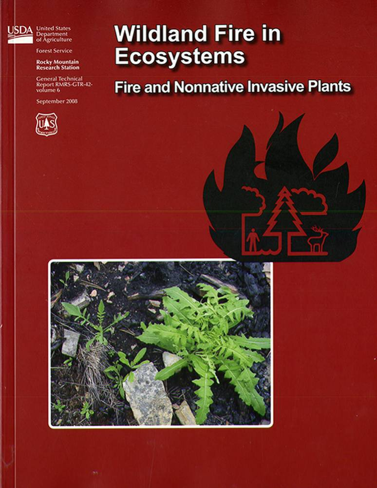 Wildland Fire in Ecosystems: Fire and Nonnative Invasive Plants