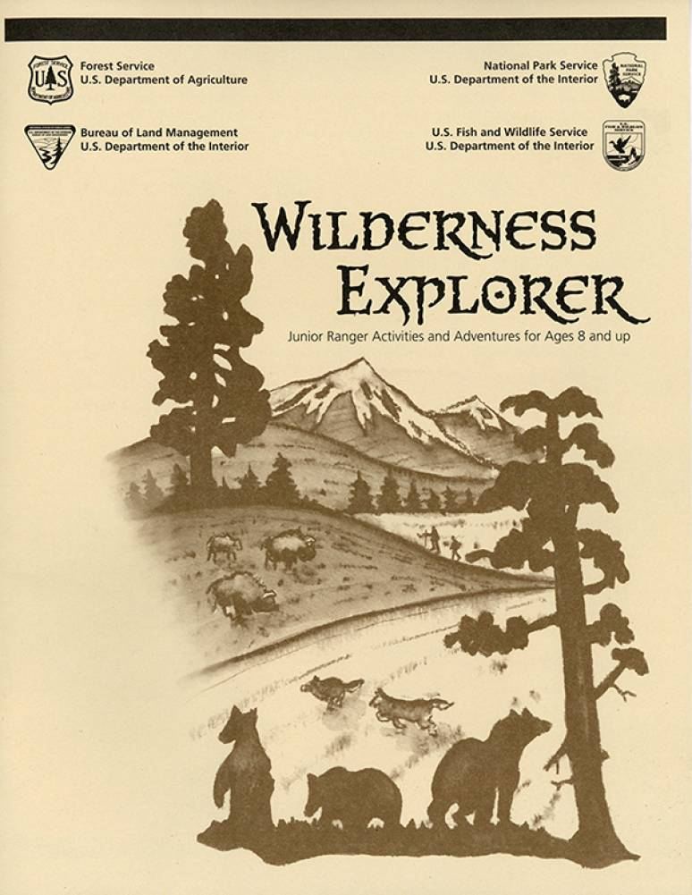 Wilderness Explorer: Junior Ranger Activities and Adventures for Ages 8 and up
