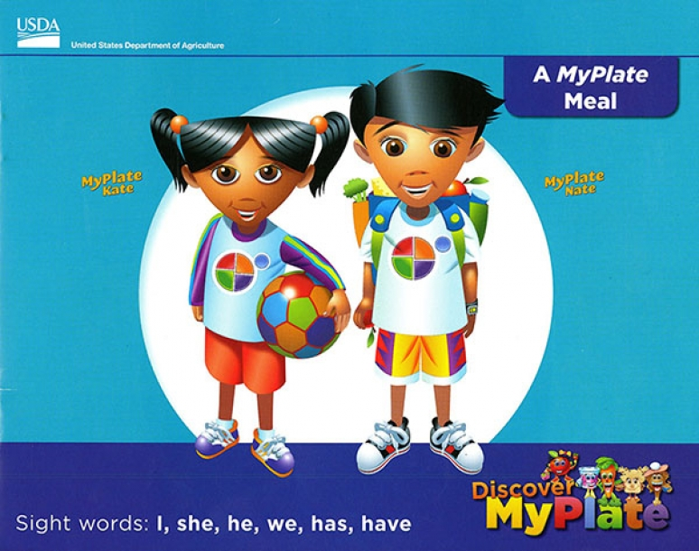 Discover MyPlate Emergent Readers