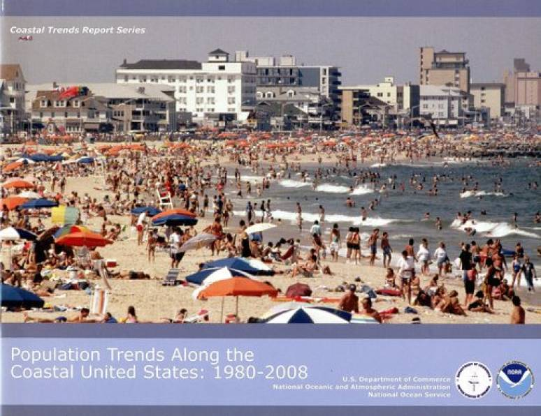 Population Trends Along the Coastal United States: 1980-2008
