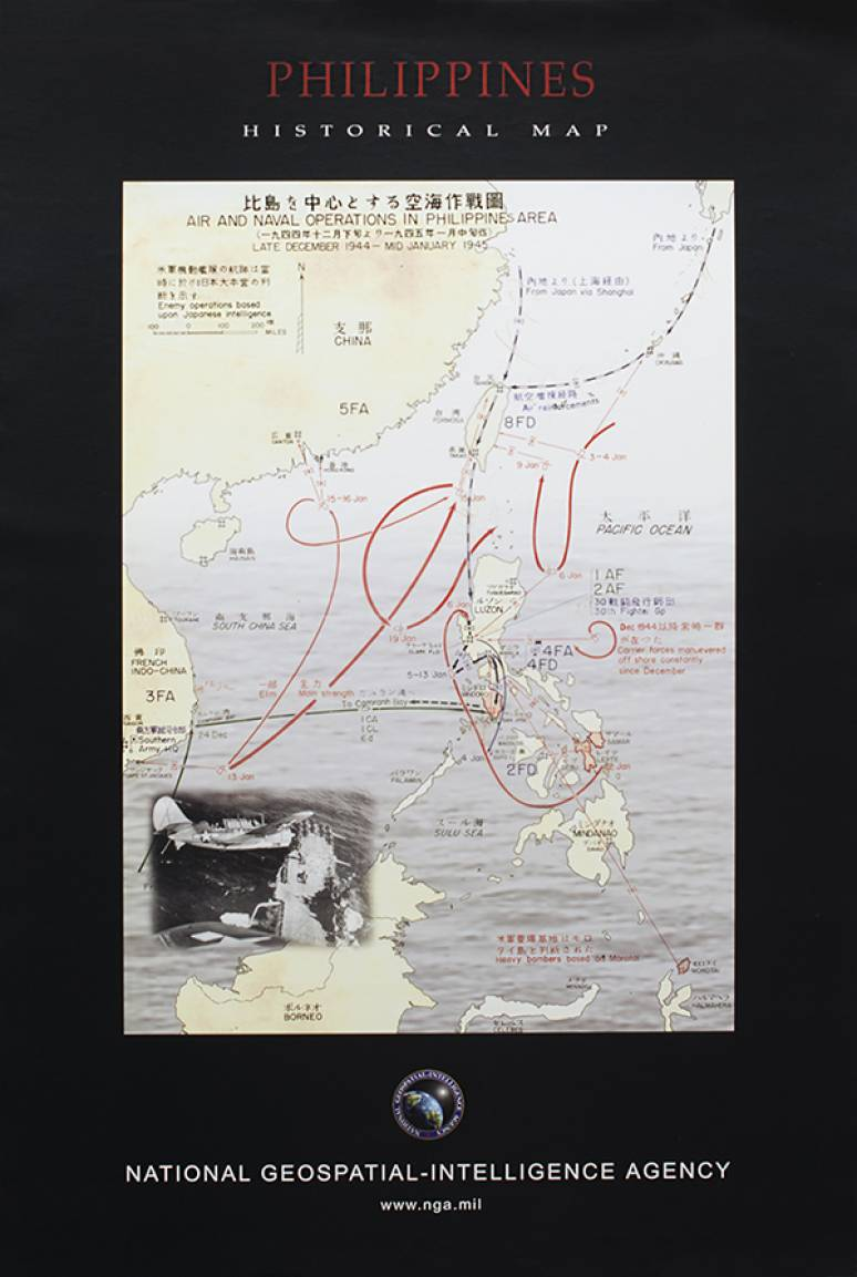 Philippines, Historical Map (Poster)