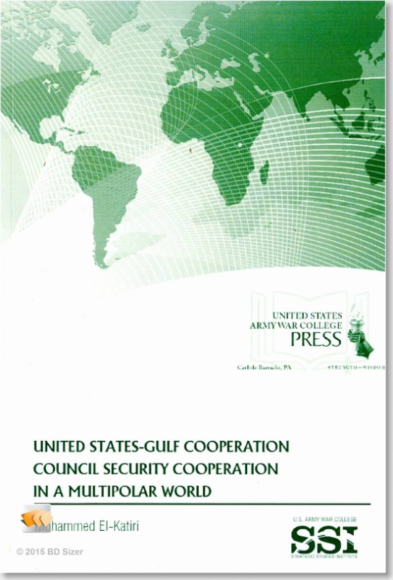 United States-Gulf Cooperation Council Security Cooperation in a Multipolar World