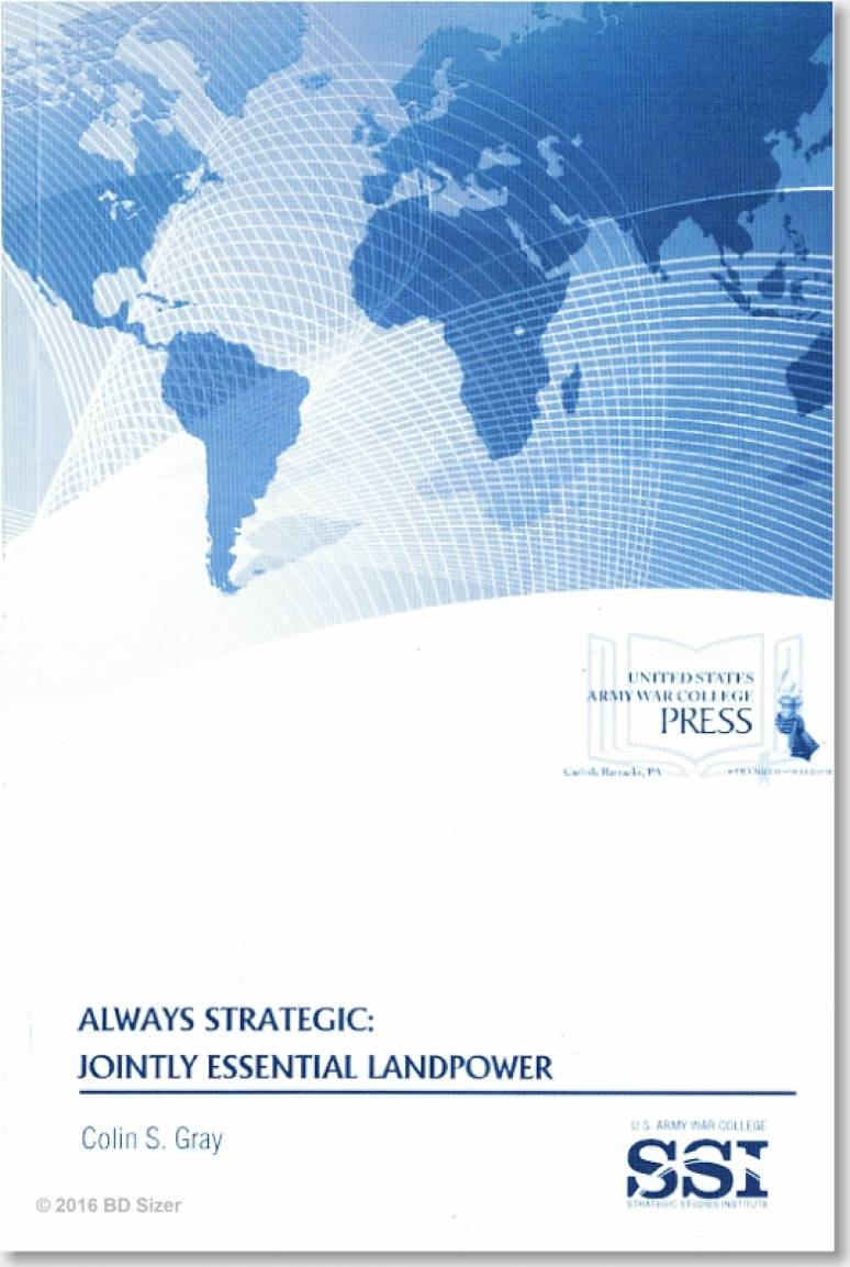 Always Strategic: Jointly Essential Landpower