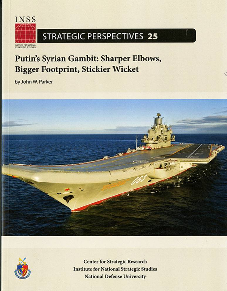 Putin\'s Syrian Gambit: Sharper Elbows, Bigger Footprint, Stickier Wicket